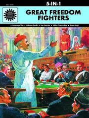 Great Freedom Fighters: 5 in 1